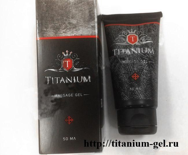 Гель Титаниум (Titanium Gel) купить в Новокуйбышевске